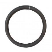 Чохол на кермо із шкірзамінника Elegant Plus, L, чорний
