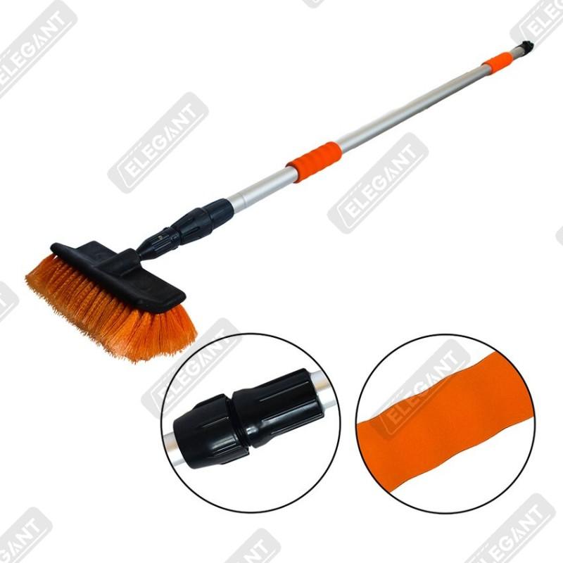 Щітка для миття з телескопічною ручкою Elegant 148-250 см