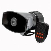 Сирена автомобільна з мікрофоном Elegant Maxi 7 тонова 60 Вт