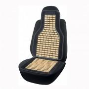 Накидка бамбукова для автомобільного сидіння Elegant Maxi чорна 45х108 см