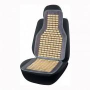 Накидка бамбукова для автомобільного сидіння Elegant Maxi сіра 45х108 см