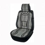 Накидка бамбукова для автомобільного сидіння Elegant Maxi сіра 47х127 см