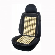 Накидка бамбукова для автомобільного сидіння Elegant Maxi чорна 44х94 см
