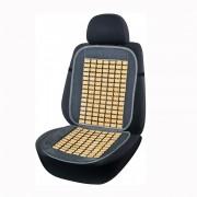 Накидка бамбукова для автомобільного сидіння Elegant Maxi сіра 44х94 см