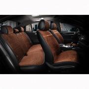Накидки на автомобільні сидіння Elegant Maxi NAPOLI коричневі комплект