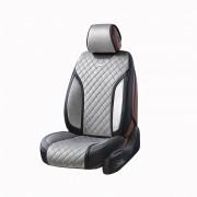 3D чохли на автомобільні сидіння Elegant TORINO Maxi cірі комплект