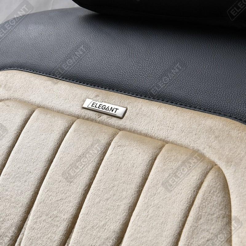 3D чохли на автомобільні сидіння Elegant MODENA Maxi cірі комплект